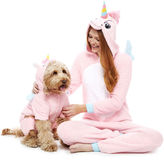 Asstd National Brand Unicorn Long Sleeve One Piece Pajama