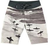 Molo Nalvaro Printed Board Shorts, Size 18M-14