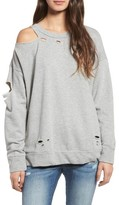 BP Women's Holy Moly Destroyed Sweatshirt