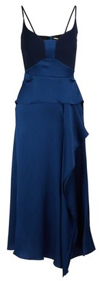 Roland Mouret Off shoulders midi dress