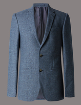 Autograph Pure Wool Tailored Fit Jacket With Buttonsafetm