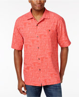 Tommy Bahama Men's Silk Thatch of the Day Shirt