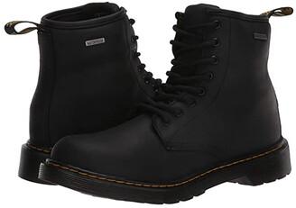 Dr. Martens Kid's Collection 1460 Waterproof (Big Kid) (Black Republic Waterproof) Kid's Shoes