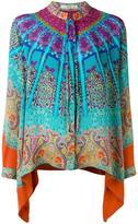Etro scarf print blouse - women - Silk - 42