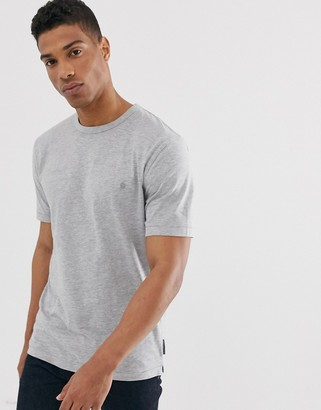 French Connection organic cotton boxy fit t-shirt in gray