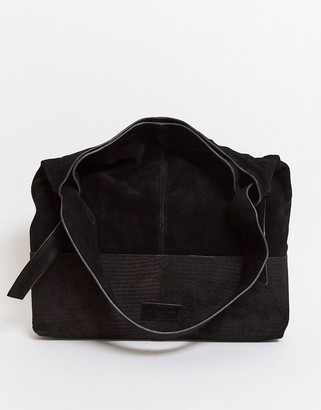 Urban Code Urbancode leather tote bag in black