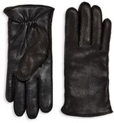 UGG Solid Leather Gloves