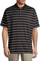 Callaway Men's Short-Sleeve Stripe Polo