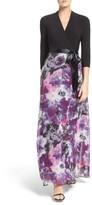 Chetta B Women's Mixed Media Gown