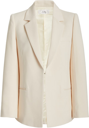 Victoria Victoria Beckham Tailored Crepe Blazer Jacket