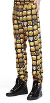 Versus By Versace Versus Versace Men's Slim Fit Five Pocket Jeans Pants Size