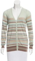Loro Piana Cashmere Striped Cardigan