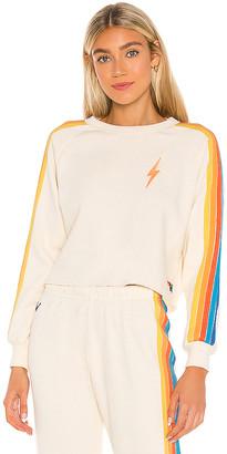Aviator Nation Bolt Cropped Sweatshirt