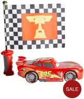 Mattel CARS FLAG FINISH LIGHTNING MCQUEEN