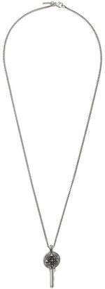 Emanuele Bicocchi Silver Key Necklace