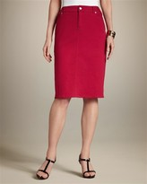 Chico's Solid Devin Skirt
