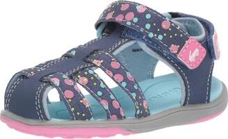 See Kai Run Girl's Paley II Webbing Sport Sandal