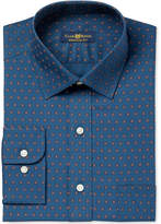 Club Room Men's Classic/Regular Fit Foulard Print Dress Shirt, Created for Macy's
