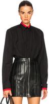 Givenchy Taping Detail Shirt in Black.