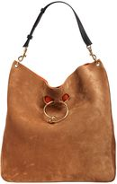 J.W.Anderson Large Pierce Suede Hobo Shoulder Bag