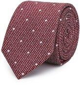 Reiss Kesher - Polka Dot Silk Tie in Red, Mens
