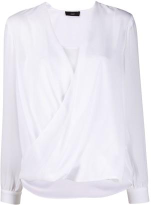 Steffen Schraut draped blouse