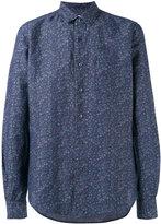 Glanshirt floral-print shirt - men - Cotton/Linen/Flax - 40