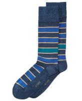 Bar III Men's Pop Stripe Socks, Created for Macy's