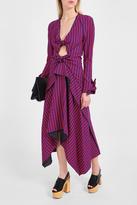 Proenza Schouler Knot Check Dress