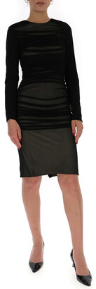 Tom Ford Draped Fitted Dress