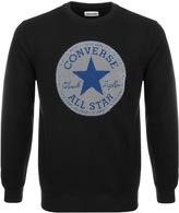 Converse Micro Dot Logo Sweatshirt Black