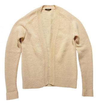 Balmain Ecru Wool Knitwear & Sweatshirts
