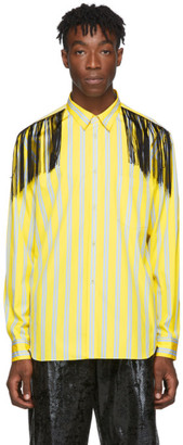 Comme des Garcons Yellow Fringed Shirt