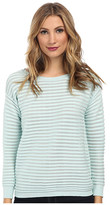 Vince Camuto Long Sleeve Ottoman Stitch Sweater