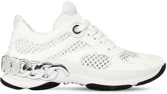 Casadei 30mm Dynamic Mesh & Naplak Sneakers