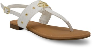 Juicy Couture Zing Women's T-Bar Sandals