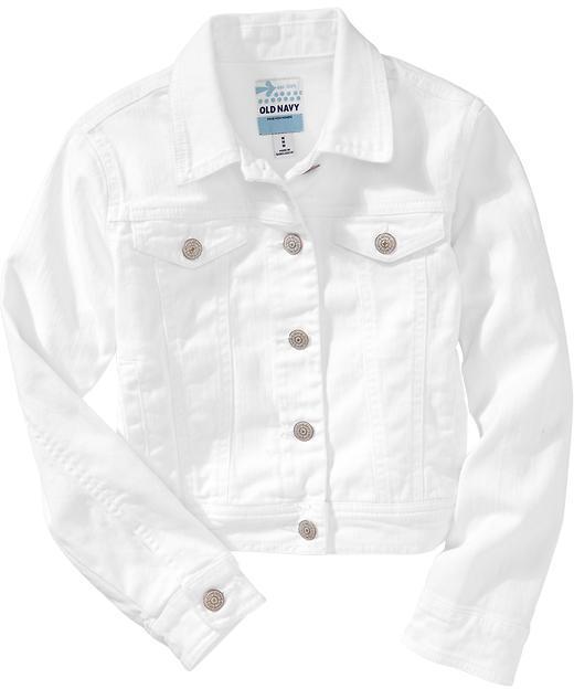 Old Navy Girls Denim Jackets