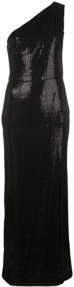HANEY Zane sequined gown