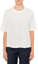 3.1 Phillip Lim Short Sleeve T-Shirt With Silk Combo
