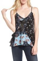 Parker Women's Ara Mix Print Silk Camisole