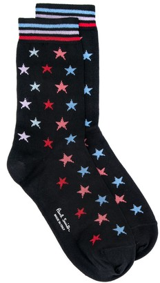 Paul Smith star knitted socks