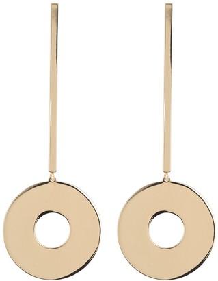trina Trina Turk Linear Disc Drop Stud Statement Earrings