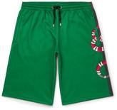 Gucci Printed Cotton-Blend Tech-Jersey Shorts