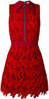 Alice + Olivia Alice+Olivia - floral embroidery dress - women - Cotton/Polyester/Spandex/Elastane - 2