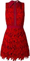 Alice + Olivia Alice+Olivia - floral embroidery dress - women - Cotton/Polyester/Spandex/Elastane - 4