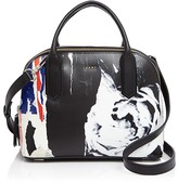 DKNY Small Ripped Rose Satchel