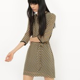 Suncoo Printed Belted Shift Dress - Exclusive