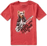 Lucky Brand Big Boys 8-20 Rock And Bear Short-Sleeve Tee