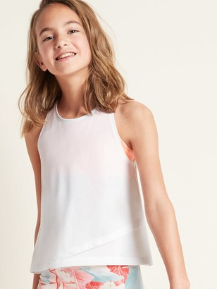 Old Navy Go-Dry 2-in-1 Sports Bra Tank Top for Girls