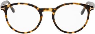 Tom Ford Tortoiseshell Round Glasses